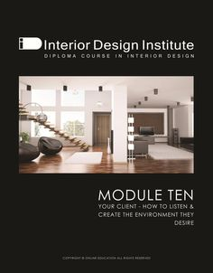 Module 10 Interior Design Courses