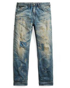 Distressed Carpenter Jean