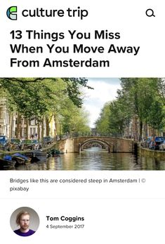 Living In Amsterdam, Amsterdam Houses, Best Places In Europe, Best Cities, Tiffin Box, Moving Away, Stunningly Beautiful, Being A Landlord, Summer Nights