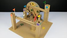 How to Make Amazing Marble Run Machine from Cardboard | Great Ideas | 9t...