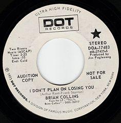 """45vinylrecord I Don't Plan On Losing You (7"""" DJ/45 rpm) DOT http://www.amazon.com/dp/B00YYQZVX2/ref=cm_sw_r_pi_dp_b6YCvb1T2CVW5"""