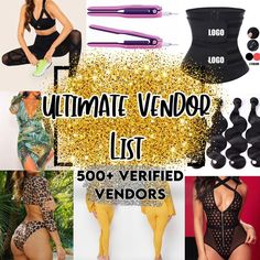 Ultimate Vendor List Swim Lingerie Waist Trainers | Etsy Popular Clothing Stores, Trendy Clothing, Kids Clothing, Free Clothes, Clothes For Women, Where To Buy Clothes, Boutique Names, Virgin Hair Vendors, Wholesale Boutique Clothing