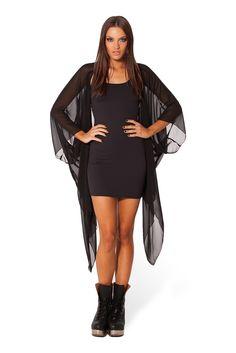 Chiffon Kimono 2.0 by Black Milk Clothing $80AUD