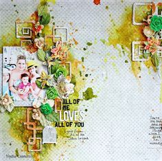 Just My Scrapping World.. : One more layout for Maja Design using Sofiero!