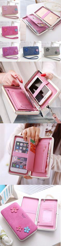 US$12.71 Women Universal 5.5 Inch Phone Bag Wallet_ PU Phone Case For Iphone,Xiaomi,Samsung,Sony,Huawei