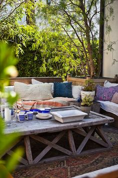 Outdoor Spaces for Small Places