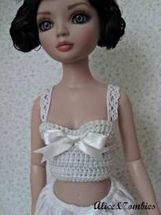 Ellowyne Wilde doll top by AliceandZombies