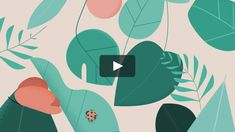 Motionographer shares inspiring work and important news for the motion design animation and visual effects communities. Plant Illustration, Graphic Design Illustration, Simple Illustration, Animation, Motion Design, Motion Graphics, Anime, Abstract, Creative