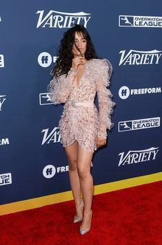 Camila Cabello arriving at Variety's Power of Young Hollywood Party Fifth Harmony, Selena, Camilla Mendes, Beautiful Brown Eyes, Calvin Klein, Anya Taylor Joy, Female Singers, Woman Crush, Overwatch