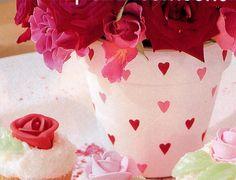 51 meilleures images du tableau pots en terre d cor s pots de fleurs d cor s bricolage et. Black Bedroom Furniture Sets. Home Design Ideas