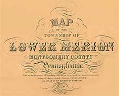 Lower Merion Maps