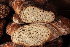 at-saatenwurzel-06 Home Baking, Bread, Blog, Simple, Play Dough, Food Food, Bakken, Brot