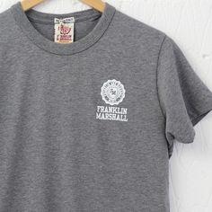 Franklin & Marshall Small Logo T-Shirt (Grey Melange) – New-Entry Clothing #franklin&marshall #college #tshirt #menswear