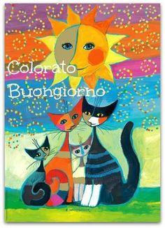 4 gattini colorati