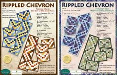 Gems, Jewels, & Crystals - Rippled Chevron Project