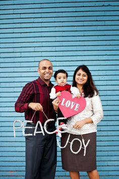 Our Christmas family photo