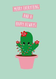 Merry Cactus by Studio Inktvis
