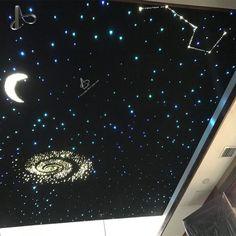 TRẦN SAO NHÂN TẠO PHÒNG NGỦ   Trang trí bằng đèn sợi quang