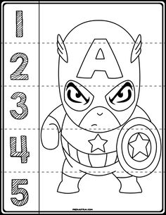 $1 | Teach counting skills with these Superheroes! Great for teaching number recognition for numbers 1-5. Includes seven cartoon characters resembling: Batman, Ironman, Hulk, Thor, Captain America, Spiderman, and Wolverine! #preschool #preschoolers #preschoolactivities #kindergarten #Homeschooling #mathcenters #marvel #superheroes #superhero Superhero Preschool, Superhero Classroom Theme, Preschool Classroom, Classroom Themes, Super Hero Activities, Autism Activities, Teaching Kids, Kids Learning, Turtle Classroom