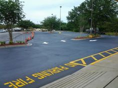 ABC Paving & Sealcoating's Completed Work