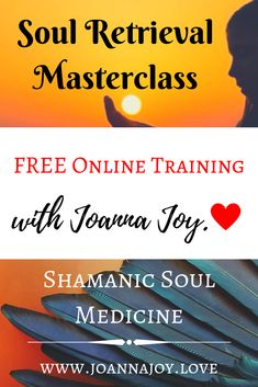 Join this FREE Masterclass with Joanna Joy, to learn about this powerfully transformative and ancient Shamanic Healing practise of Soul Retrieval. Past Life Regression, Soul Healing, Spirit Guides, Guided Meditation, Spiritual Awakening, Master Class, Mental Health, How To Become, Medicine