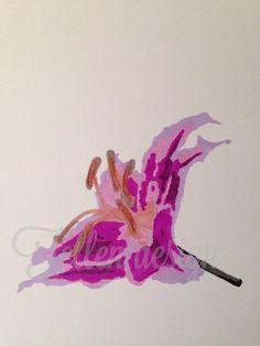 Lilly , promarker #art #tellendesign