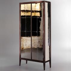 """CR Currin - """"Jewerly for the Home"""". Judging by this quietly glamorous armoir, we definitely agree. Console Cabinet, Jewelry Armoire, Hand Blown Glass, Home Accents, Furniture Making, Decorative Accessories, Really Cool Stuff, Locker Storage, Home Goods"""