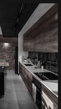 Luxury Kitchen Design, Kitchen Room Design, Dream Home Design, Home Decor Kitchen, Interior Design Kitchen, Home Kitchens, Interior Decorating, House Design, Interior Design Videos