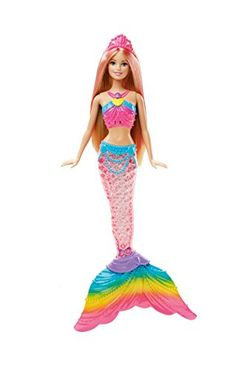 Barbie Rainbow Lights Mermaid Doll -- You can find more details by visiting the image link.Note:It is affiliate link to Amazon.