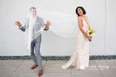 LA Wedding Photography: The Smog Shoppe - Christine Chang Photography Goofy Couples, Wedding Veils, Wedding Dresses, Wedding Coordinator, All You Need Is Love, Photo Tips, Floral Design, Wedding Photography, Bride