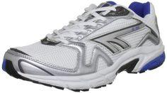 531fb250d05 nice Hi-Tec Mens R156 Running Shoes A001742 011 01 White Royal Gunmetal 9  UK