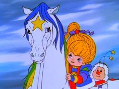 Just a token pic of Rainbowbrite! I don't think this is anime but I still watch this movie even if only for Starlight.
