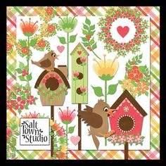 Monday's Guest Freebies ~ Salt Town Studio  ✿ Follow the Free Digital Scrapbook board for daily freebies: https://www.pinterest.com/sherylcsjohnson/free-digital-scrapbook/ ✿ Visit GrannyEnchanted.Com for thousands of digital scrapbook freebies. ✿