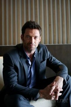 """hugh jackman. He is probably a bit more my """"age"""""""