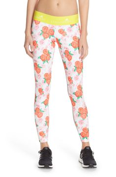 Adding a floral print the the active gear with these cute and feminine leggings.