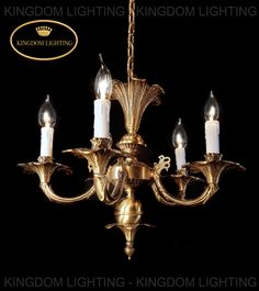 antique bronze mini chandeliers kl-3304-5 Mini Chandelier, Brass Chandelier, Chandeliers, Maria Theresa, Lamp Shades, Solid Brass, Wall Sconces, Floor Lamp, Centerpieces
