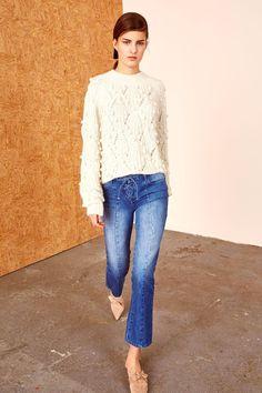 Ulla Johnson Alex Lace-up Jeans