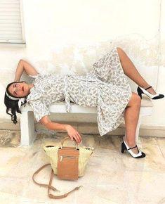 Και πάλι θα μυρίσει καλοκαίρι!!! Μπεζ floral και ψάθα στα χρώματα της άμμου....vintage διάθεση!  #sushiscloset #sushis_closet #vintage #summer20 #greekclothes👗👠👛 #greekfashion👛👠👗 #μενουμεελλαδααγοραζουμεελληνικα Chic, Vintage, Style, Fashion, Shabby Chic, Swag, Moda, Elegant, Fashion Styles