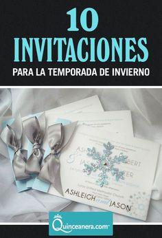 ¡10 invitaciones para la temporada de invierno!