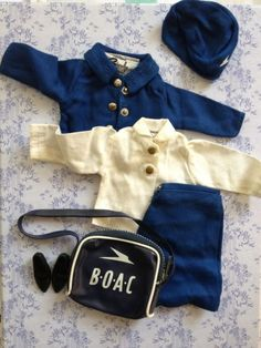 Sindy 1970 Air Hostess outfit