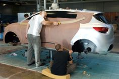 Relive the birth of New Renault #Clio behind the scene of #Renault #Design. (c) J-C Mounoury - Droits réservés Renault