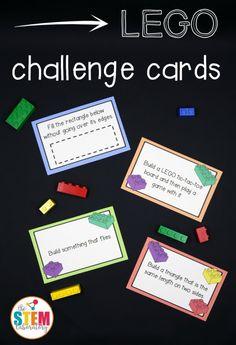 Free LEGO Challenge Cards | Upside Down Homeschooling | Bloglovin'