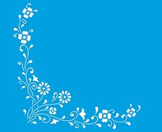 """8.3"""" x 6.8"""" (21cm x 17cm) Reusable Flexible Plastic Stencil for Graphical Design Airbrush Decorating Wall Furniture Fabric Decorations Drawing Drafting Template - Flowers Leaves Litoarte http://www.amazon.com/dp/B00NS3WKZO/ref=cm_sw_r_pi_dp_VX0-ub13XNAY3"""