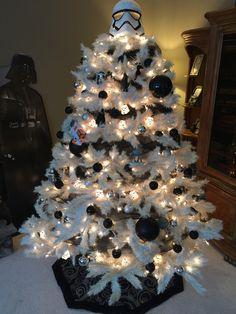 Star Wars Stormtrooper Christmas Tree                                                                                                                                                                                 More