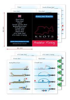 Angling Knots Booklet - Predator Fishing  Knots
