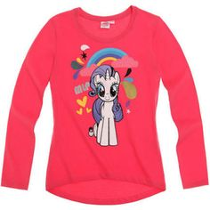 Girls My Little Pony Rarity Long Sleeve T Shirt