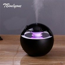 TBonlyone Ball Humidifier with Aroma Lamp Essential Oil Ultrasonic Electric Aroma Diffuser Mini USB Air Humidifier Fogger Price: USD