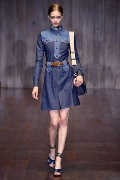 Gucci Womenswear Ready-to-Wear Spring/Summer 2015 via @stylelist | http://aol.it/1snKxee