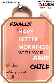 How our Mornings got easier--Despite ADHD Adhd And Autism, Adhd Kids, Single Parenting, Kids And Parenting, Parent Board, Adhd Help, Morning Activities, Adult Adhd, Special Needs Kids