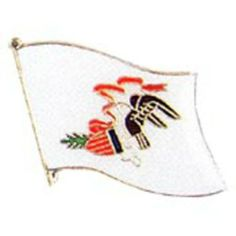 "Illinois Flag Pin 1"" by FindingKing. $8.50. This is a new Illinois Flag Pin 1"""